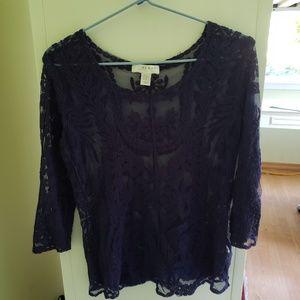 Kenar lace work shirt